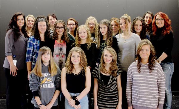 Les filles de sec 1 de la Polyvalente de Disraeli ont vécu une soirée spéciale, enrichissante et motivante.