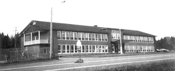 L'école Saint-Nom-de-Jésus à Beaulac-Garthby