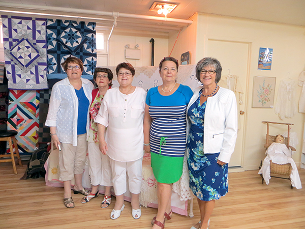 Comité de fermières de Stratford Crédit photo: Colette C. Leblanc