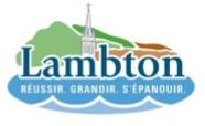 Couvre-feu et mesures sanitaires : La Municipalité de Lambton appelle à la solidarité
