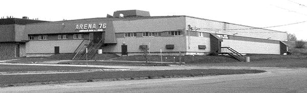 L'Aréna'76 en 2015.