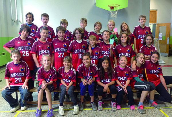 champions_école Ste-Luce