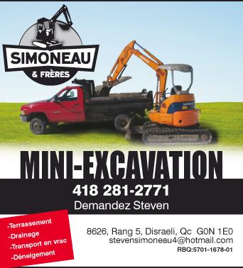 Excavations Simoneau