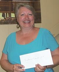 Diane Morneau de Disraeli (certificat cadeau -304- de Restaurant Da Rita)