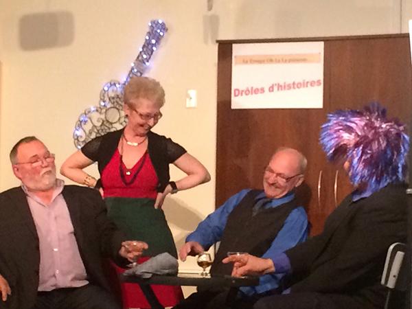 Richard Rodrigue, Yvette Fontaine, Antoine Roy, Julien Castonguay
