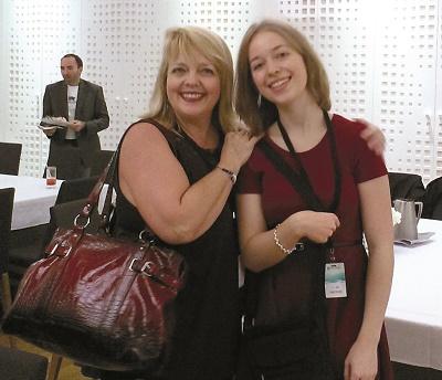 Miranda Grenier et sa mère