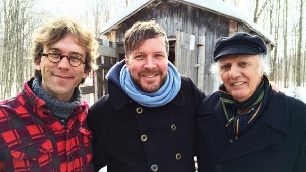 Fred Pellerin, Francis Legault et Gilles VIgneault