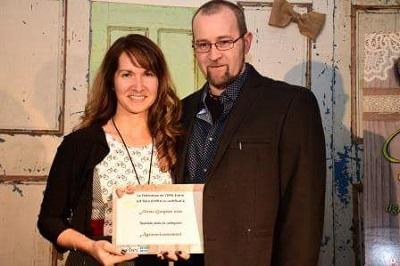 Finaliste dans la catégorie Agroenvironnement :Ferme Geryane senc; propriétaires Suzanne Theberge & Yves Fortier de Courcelles